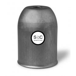 Bicchierino in metallo con Portalampada E27 e Serracavo Grezzo