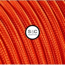 Textus - Cavo Tondo Arancio con Rivestimento Tessile