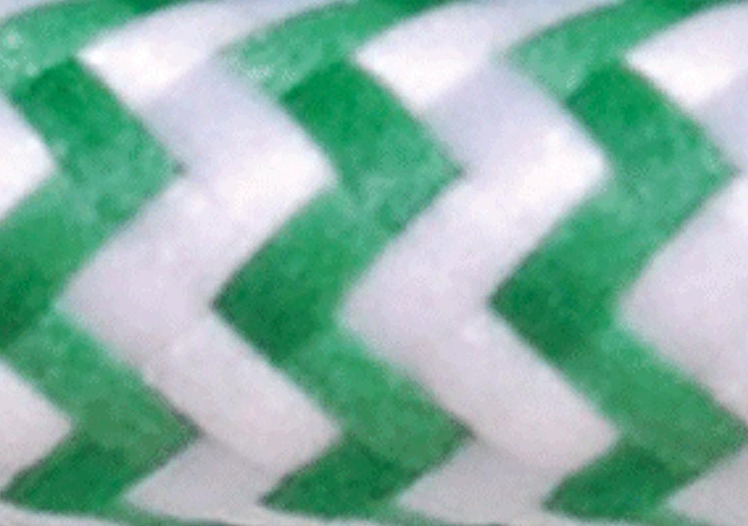 Zig Zag Bianco Verde