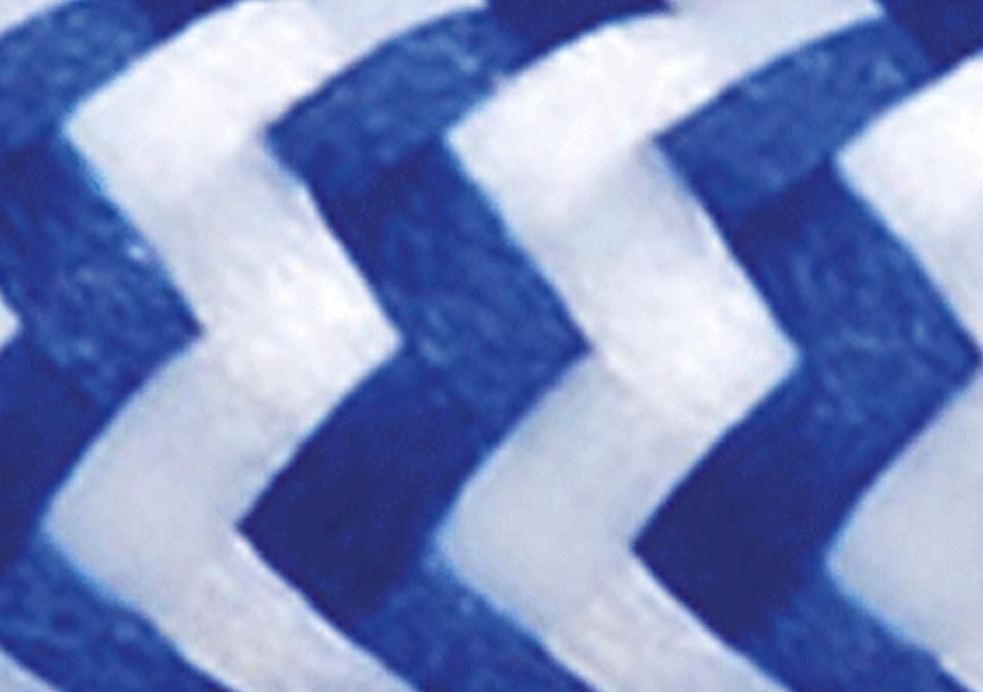 Zig Zag Bianco Blu