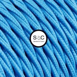 Textus - Treccia Seta Azzurro
